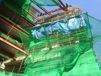 Lưới an toàn, Lưới bảo vệ công trình